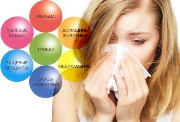 Температура при Алерг. 1